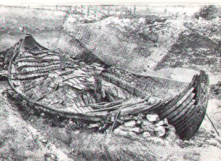The excavation of the Osebergship